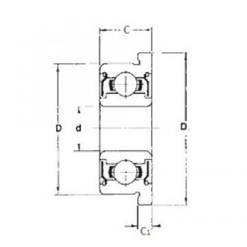 3 mm x 8 mm x 4 mm  FBJ F693ZZ FBJ Bearing