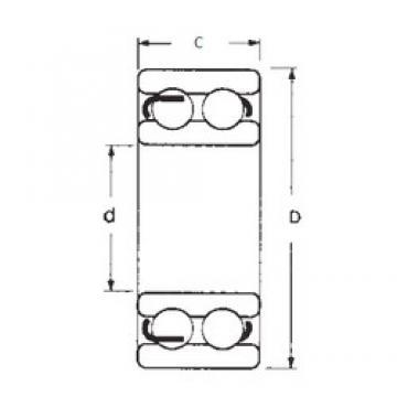 55 mm x 120 mm x 43 mm  FBJ 4311-2RS FBJ Bearing