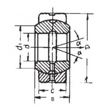 160 mm x 230 mm x 105 mm  FBJ GE160ES FBJ Bearing