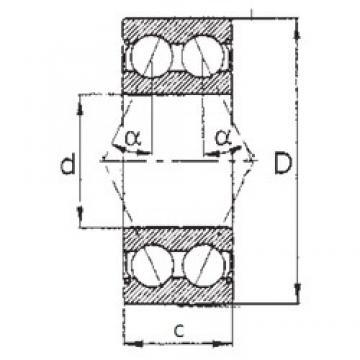 65 mm x 120 mm x 38,1 mm  FBJ 5213ZZ FBJ Bearing