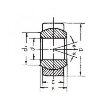 6 mm x 14 mm x 6 mm  FBJ GE6E FBJ Bearing