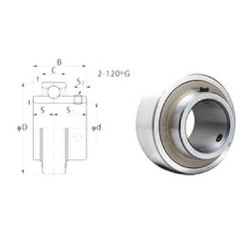 31,75 mm x 62 mm x 38,1 mm  FYH RB206-20 FYH Bearing