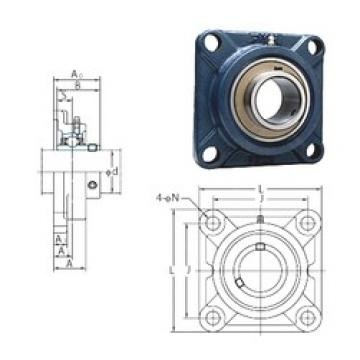 FYH UCFX07-23 FYH Bearing