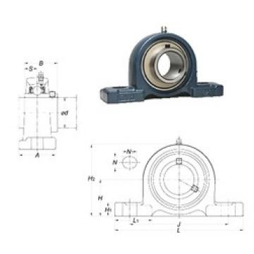 FYH UCPX17 FYH Bearing