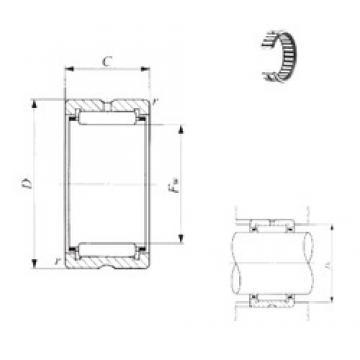 IKO TR 11013550 IKO Bearing