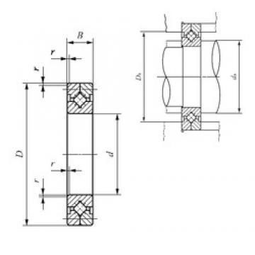 800 mm x 1 030 mm x 100 mm  IKO CRB 25040 IKO Bearing