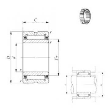 360 mm x 480 mm x 118 mm  IKO NA 4972 IKO Bearing