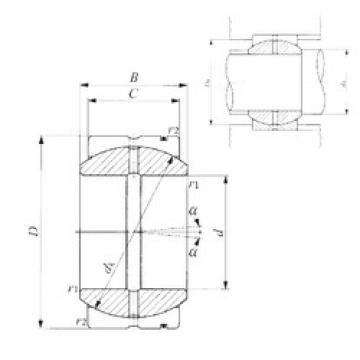 20 mm x 32 mm x 16 mm  IKO SB 203216 IKO Bearing