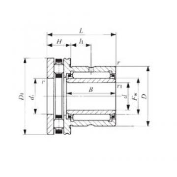 20 mm x 37 mm x 20,5 mm  IKO NBXI 2030 IKO Bearing