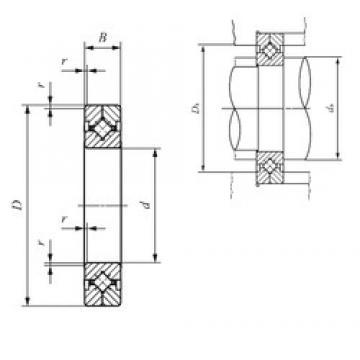 140 mm x 200 mm x 25 mm  IKO CRBC 14025 IKO Bearing