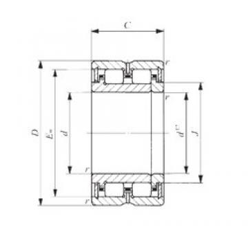 50 mm x 77 mm x 45 mm  IKO TRU 507745 IKO Bearing
