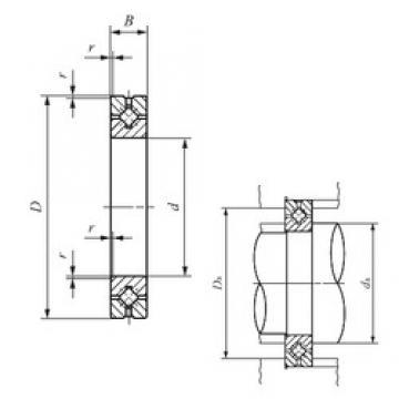 120 mm x 180 mm x 25 mm  IKO CRBH 12025 A IKO Bearing