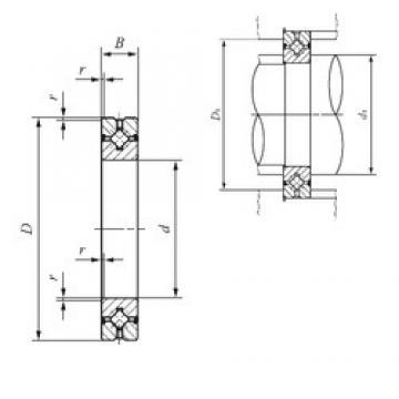 20 mm x 36 mm x 8 mm  IKO CRBH 208 A UU IKO Bearing