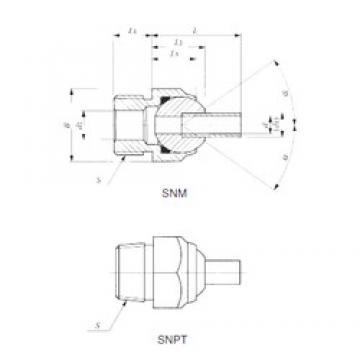 IKO SNPT 3/8-70 IKO Bearing