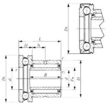 25 mm x 42 mm x 20,5 mm  IKO NAXI 2530Z IKO Bearing
