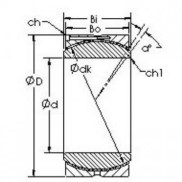 AST GEH140HC AST Bearing