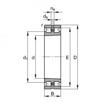 40 mm x 68 mm x 21 mm  FAG NN3008-AS-K-M-SP FAG Bearing