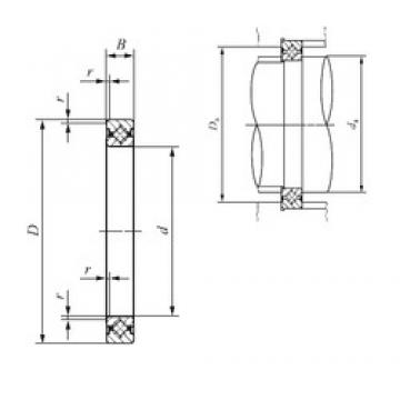 200 mm x 226 mm x 13 mm  IKO CRBS 20013 IKO Bearing