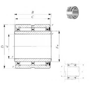 65 mm x 90 mm x 46 mm  IKO NA 6912U IKO Bearing