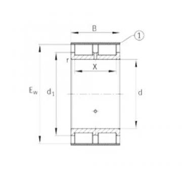 INA RSL185013-A INA Bearing