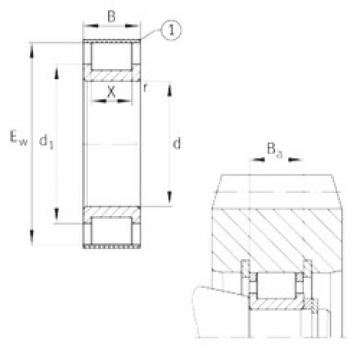 INA RSL182314-A INA Bearing