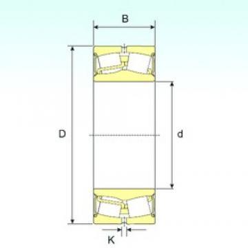 70 mm x 125 mm x 38 mm  ISB 22214-2RS ISB Bearing