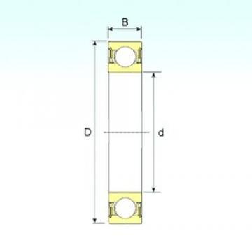 50 mm x 80 mm x 16 mm  ISB 6010-2RZ ISB Bearing