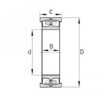 100 mm x 160 mm x 61 mm  FAG 800730 FAG Bearing