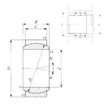 6 mm x 14 mm x 6 mm  IKO GE 6E IKO Bearing