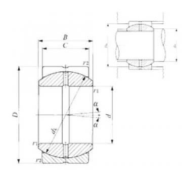 12 mm x 22 mm x 11 mm  IKO SB 12A IKO Bearing