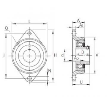 INA PCJTY1-1/2 INA Bearing
