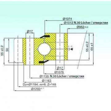 ISB EB1.25.1076.200-1SPPN ISB Bearing