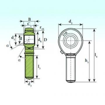 25 mm x 47 mm x 31 mm  ISB TSM 25 ISB Bearing