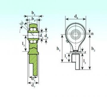 ISB TSM 08-00 BB-E ISB Bearing