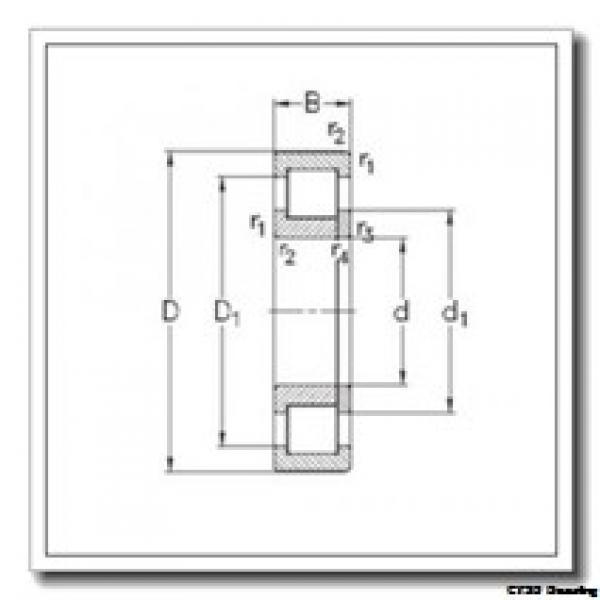 95 mm x 170 mm x 32 mm  CYSD NUP219E CYSD Bearing #2 image