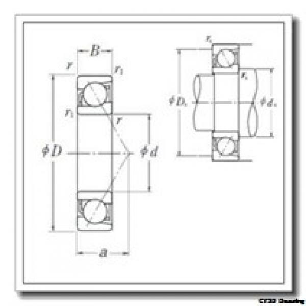 95 mm x 170 mm x 32 mm  CYSD NUP219E CYSD Bearing #1 image