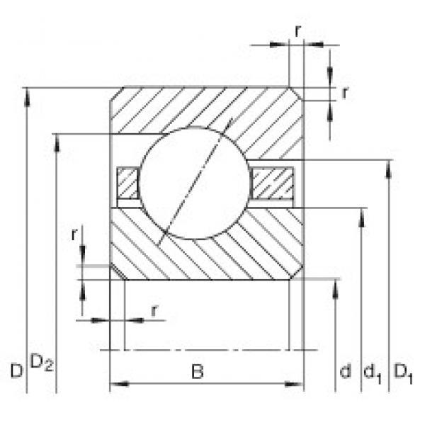 7 inch x 215,9 mm x 19,05 mm  INA CSEF070 INA Bearing #3 image