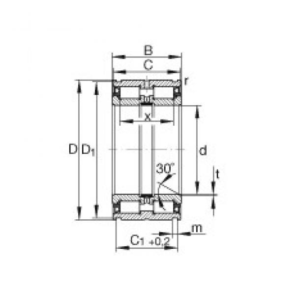 25 mm x 47 mm x 30 mm  INA SL045005-PP INA Bearing #3 image