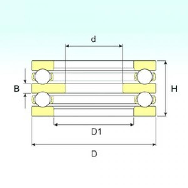 35 mm x 100 mm x 17 mm  ISB 52409 ISB Bearing #3 image