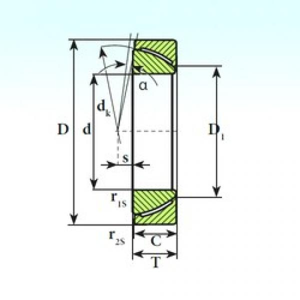 ISB GAC 140 CP ISB Bearing #3 image