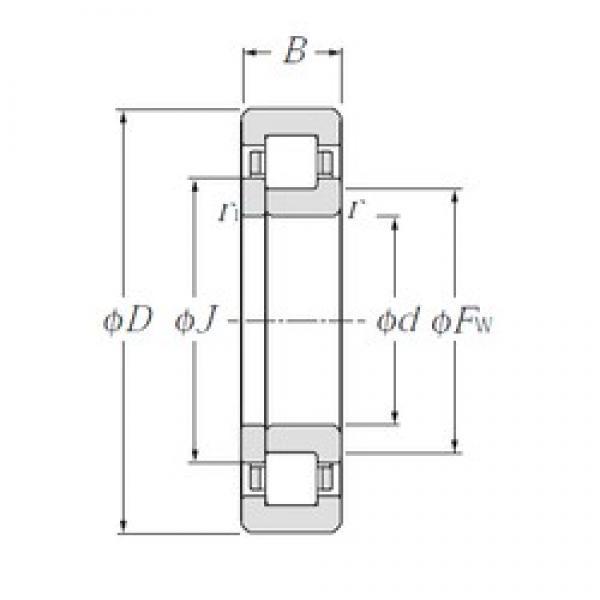 95 mm x 170 mm x 32 mm  CYSD NUP219E CYSD Bearing #3 image