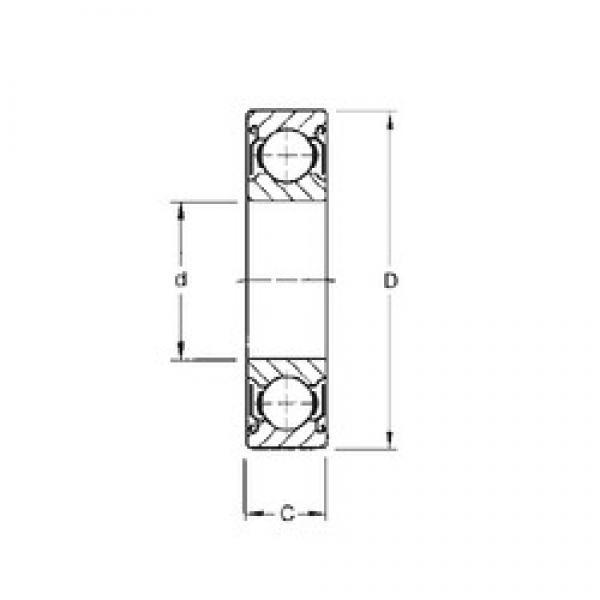25 mm x 52 mm x 20,6 mm  CYSD W6205-ZZ CYSD Bearing #3 image