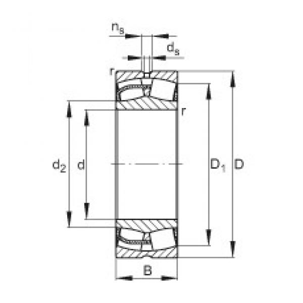 240 mm x 400 mm x 128 mm  FAG 23148-E1 FAG Bearing #3 image