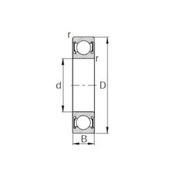 50 mm x 90 mm x 30,2 mm  CYSD W6210-2RS CYSD Bearing #3 image