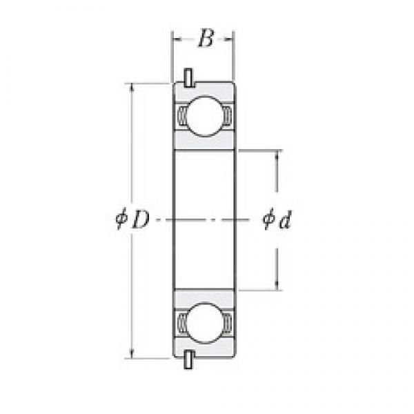 45 mm x 68 mm x 12 mm  CYSD 6909NR CYSD Bearing #3 image