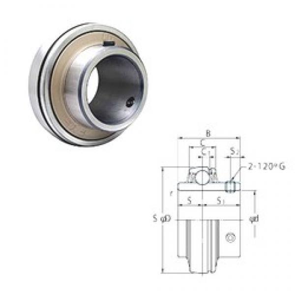 69,85 mm x 130 mm x 77,8 mm  FYH UCX14-44 FYH Bearing #3 image