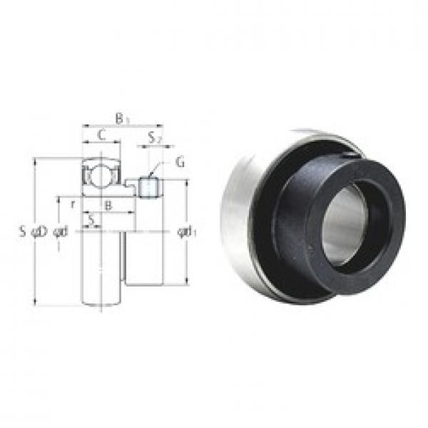15 mm x 40 mm x 19 mm  FYH SA202 FYH Bearing #3 image