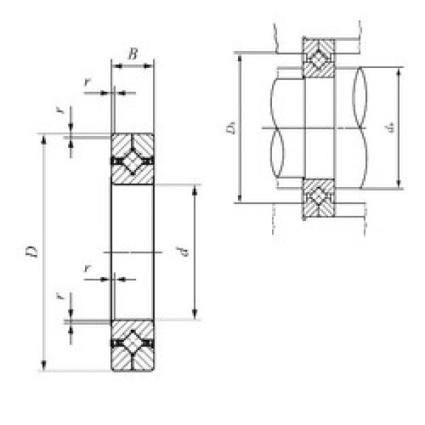 60 mm x 90 mm x 13 mm  IKO CRBC 6013 UU IKO Bearing #3 image