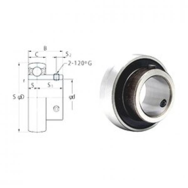 36,5125 mm x 72 mm x 32 mm  FYH SB207-23 FYH Bearing #3 image