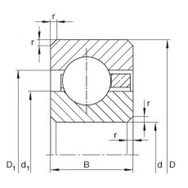 11 inch x 298,45 mm x 9,525 mm  INA CSCC110 INA Bearing #3 image